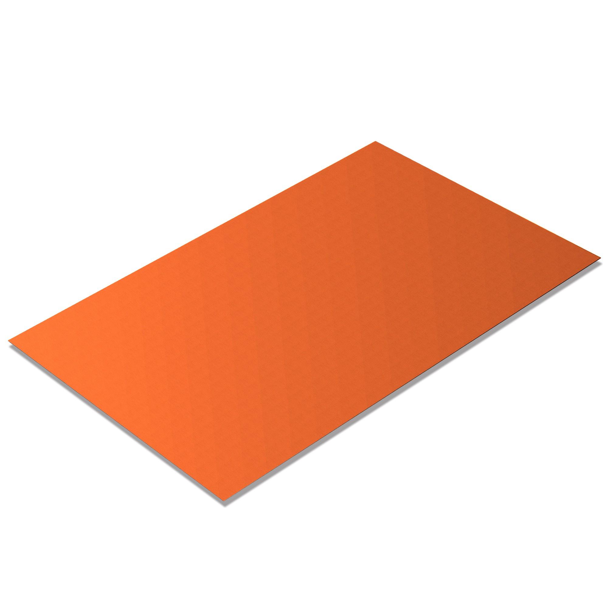 Kunstleder Meterware Teens Orange [TEE19]