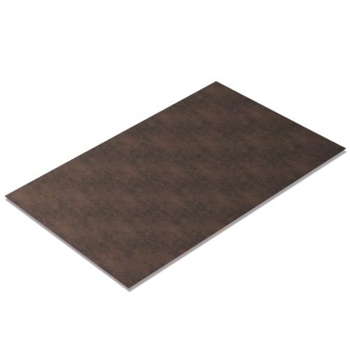 Kunstleder Meterware Vintage-Look Dark-Brown [PV588]