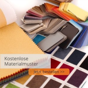 Stoff und Kunstleder Muster