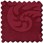 Muster Stoff Damask Rot [BORD43]