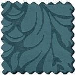 Muster Stoff Damask Hellblau [BORD57]